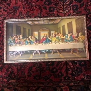 3D Vintage Last Supper Wall Art